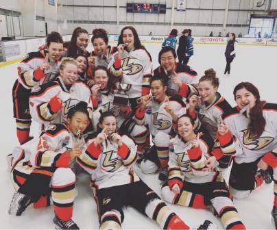 2018 MLK Girls Ice Hockey Tournament