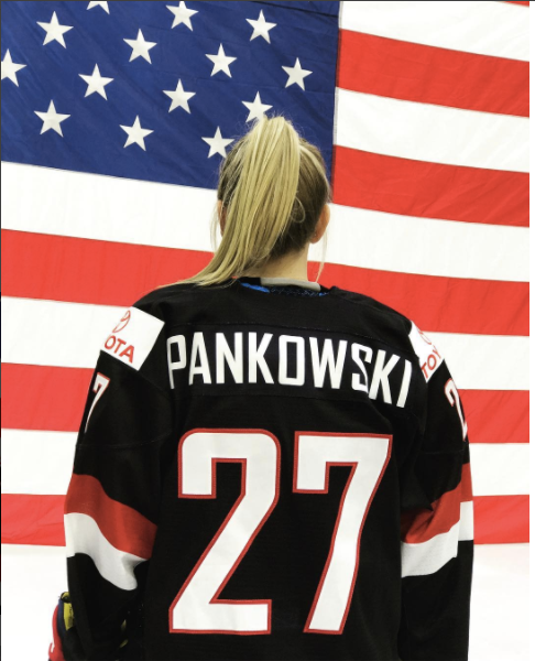 Pankowski chosen for 2018 Women's Olympic Team