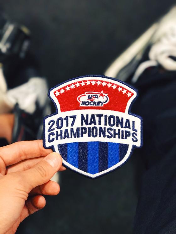 Lady Ducks at USA Hockey Nationals 2017!
