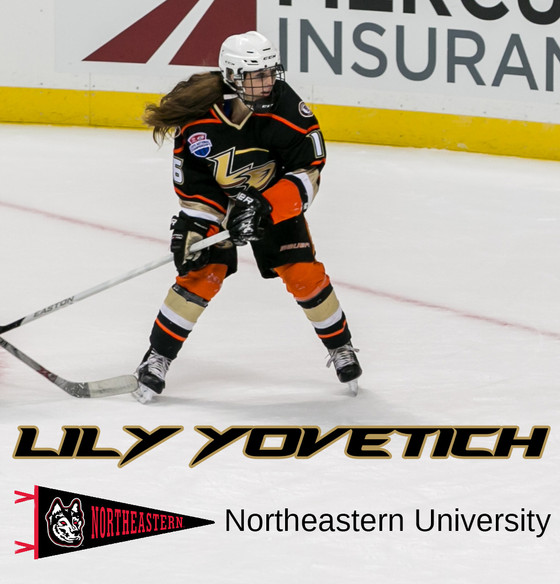 Lily Yovetich Commits to Northeastern University