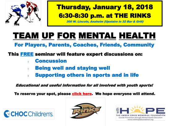 Team Up For Mental Health