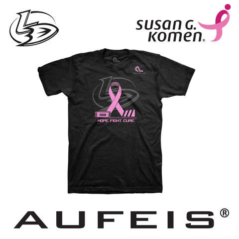 2018 Lady Ducks Breast Cancer T-Shirt