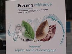 pressing éco responsable approuvé par woolmark