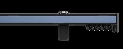 Карниз 5070 hameleon - Глянцевый черный