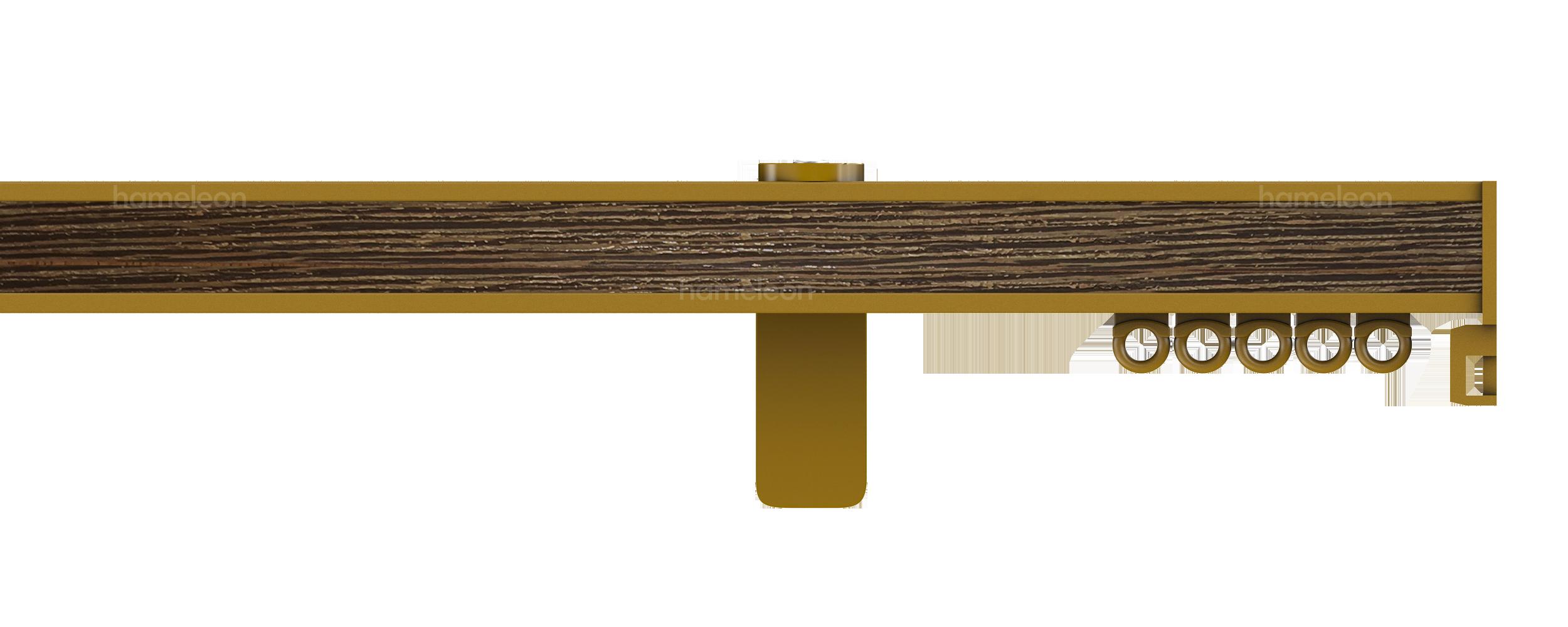 Карниз 5070 hameleon - Глянцевый золотой