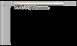 Карниз hameleon Design & Electric- Глянцевый серый