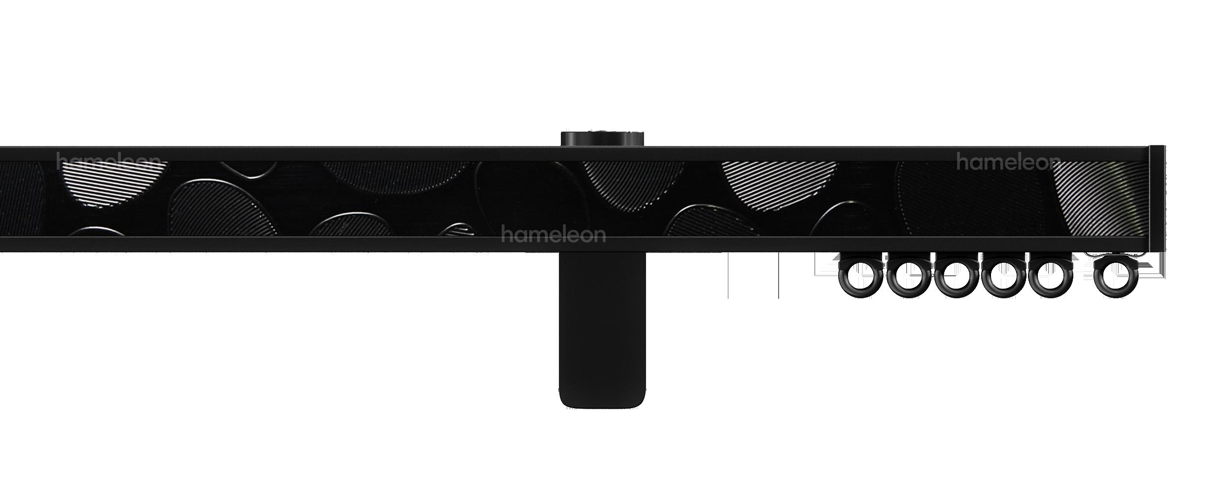 Карниз 1070 hameleon - Глянцевый черный