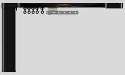 Карниз hameleon Design & Electric- Глянцевый черный