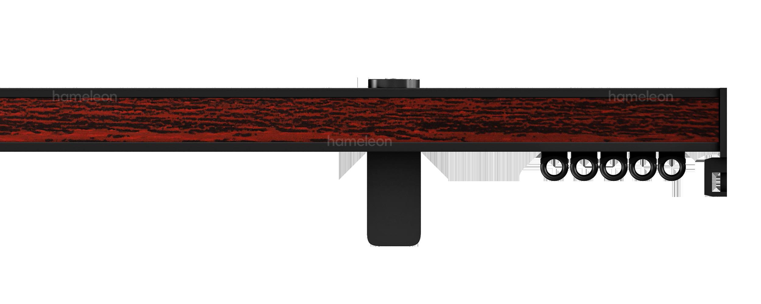 Карниз 5070 hameleon - Глянцевый черныйeleon 5070