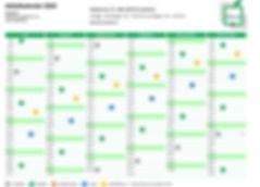 Abfallkalender Juli bis Dezember