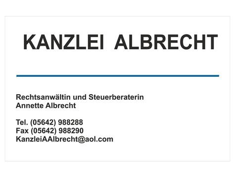 Kanzlei Albrecht