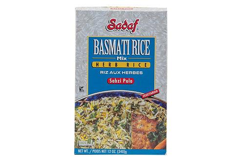 Sadaf Basmati Rice Mix - Herb Rice