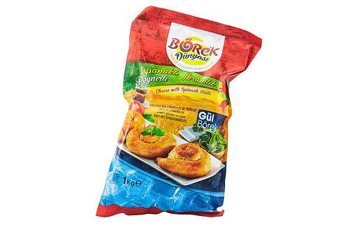 Borek Cheese w/Spinach Rolls