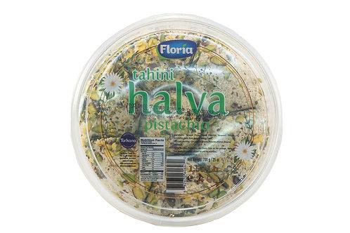 Floria Tahini Halva w/Pistachio