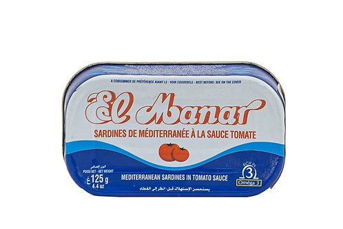 El Manar Sardines with Tomato Sauce