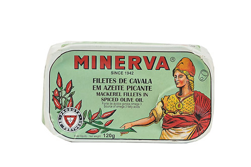 Minerva Mackerel Fillets in Spiced Olive Oil