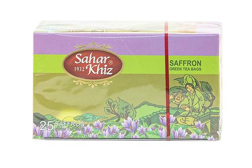 Sahar Khiz Saffron Green Tea Bags
