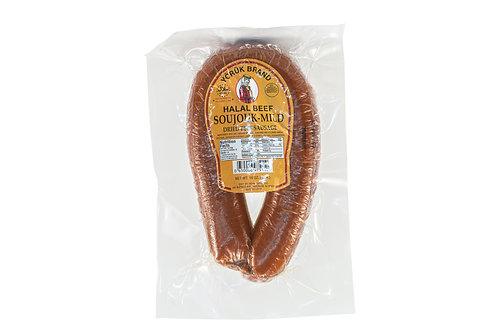 Yoruk Brand Halal Beef Soujouk Mild