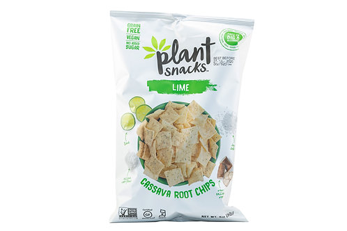 Plant Snacks Lime Cassava Root Chips