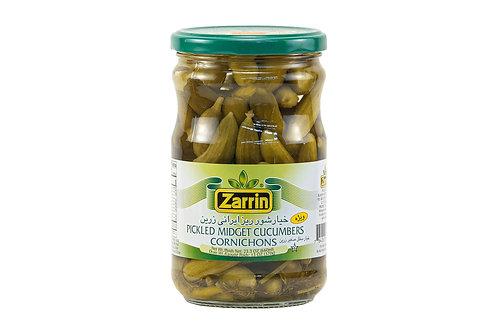 Zarrin Pickled Midget Cucumbers