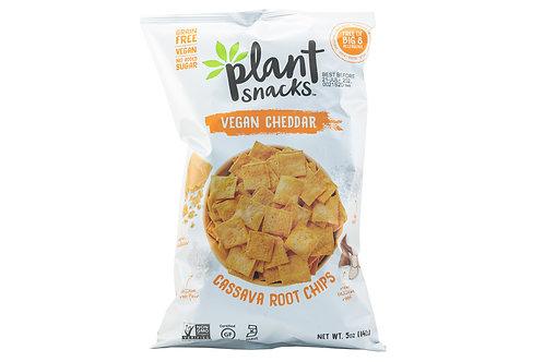 Plant Snacks Vegan Cheddar Cassava Root Chips