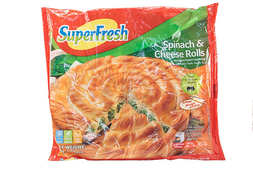 SuperFresh Spinach & Cheese Rolls