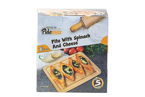 Aktaslar Mini Pita w/Spinach & Cheese