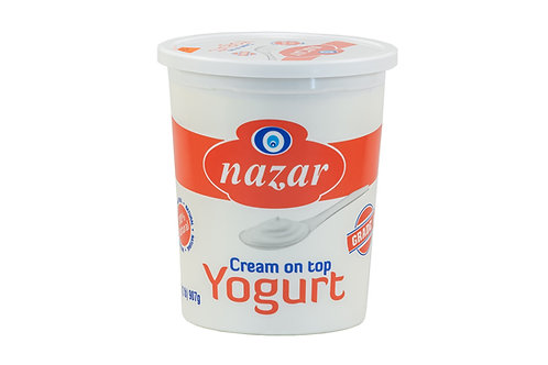 Nazar Cream on top Yogurt