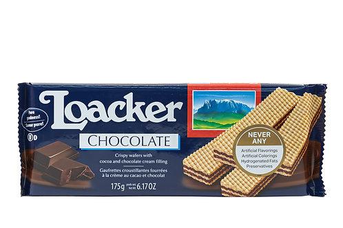 Loacker Crispy Wafers Filled w/Cocoa & Chocolate Cream