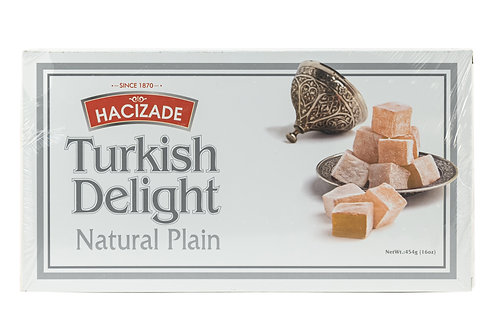 Hacizade Turkish Delight Natural Plain