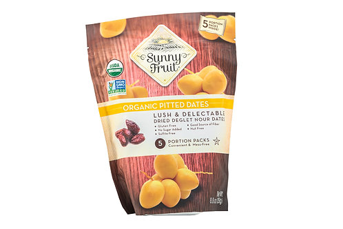 Sunny Fruit Organic Pitted Dates