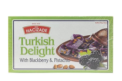 Hacizade Turkish Delight w/Blackberry & Pistachio