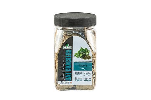 Equia Thyme Oat Crackers