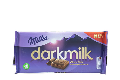 Milka Alpine Milk Chocolate w/Extra Cocoa