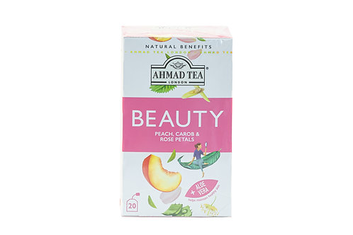 Ahmad Tea Beauty - Peach, Carob & Rose Petals
