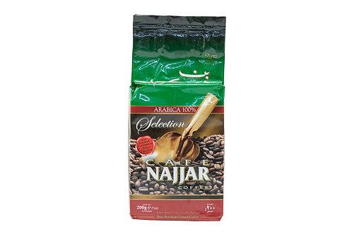 Café Najjar Coffee Pure Brazilian Ground Coffee 100% Arabica w/Cardamom