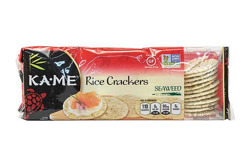 Kame Rice Crackers Seaweed