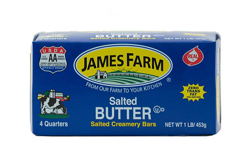 James Farms Salted Butter