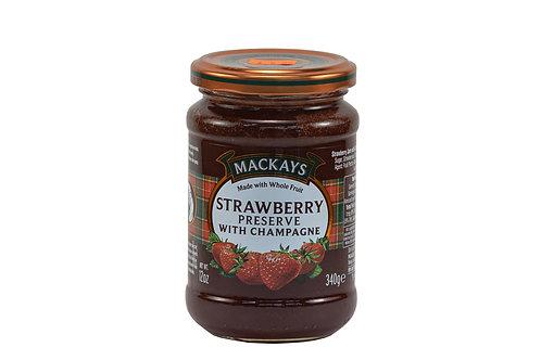 Mackays Strawberry Preserve w/Champagne