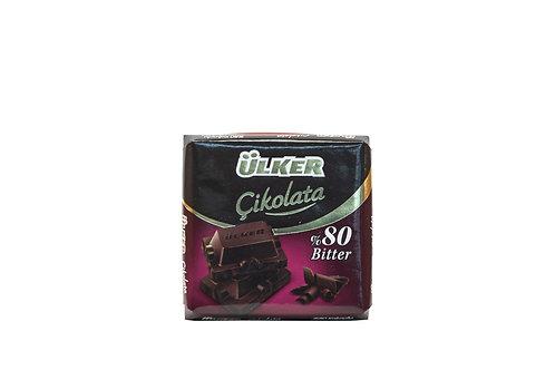 Ulker Cikolata 80% bitter
