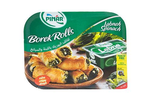 Pinar Borek Rolls w/Labenh & Spinach