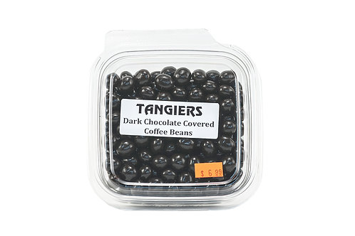 Tangiers Dark Chocolate Covered Coffee Beans
