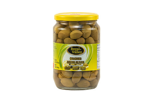 Royal Valley Cracked Green Olives