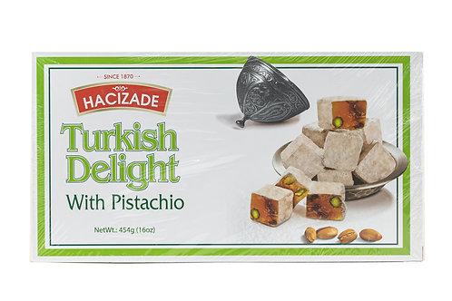 Hacizade Turkish Delight w/Pistachio