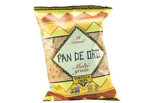 Pan De Oro Multi Grain Tortilla Chips