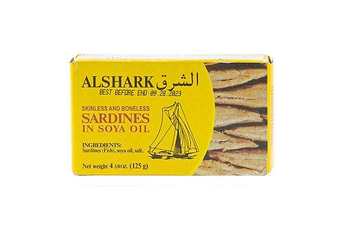 Al Shark Skinless & Boneless Sardines