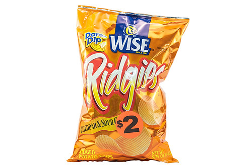 Wise Ridgies Cheddar & Sour Cream