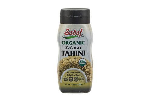 Sadaf Organic Za'atar Tahini
