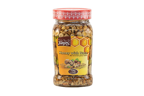 Tunas Honey w/Nuts