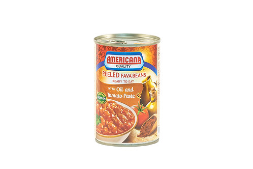 Americana Peeled Fava Beans w/Oil & Tomato Paste
